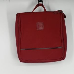 BRIC'S red toiletry pouch bag